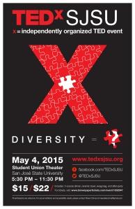 TEDxSJSU Poster FD2