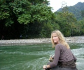 On a river in norther Sumatera, Indonesia.